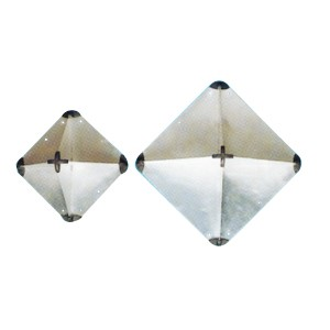 Reflector Radar plegable Aluminio 340x340x470